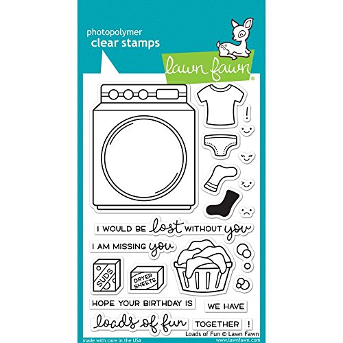Lawn Fawn Clear Stamp - Loads Of Fun by Lawn Fawn