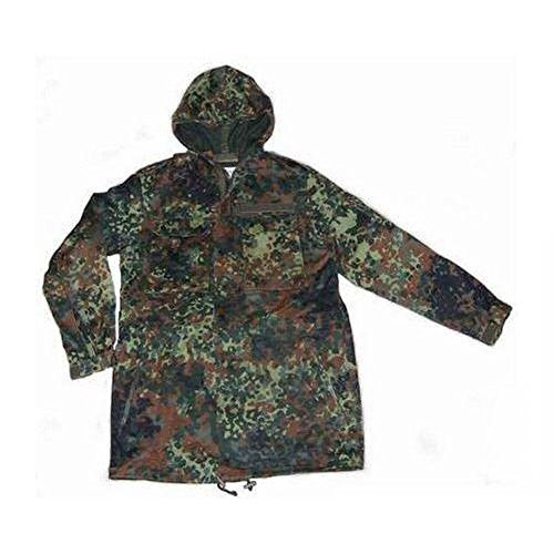 Coat with Parka Coat Parka Print Camouflage qHYYE6w8x