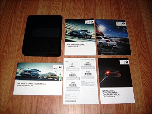 2015 BMW M3 Sedan Owners Manual with Navigation Manual