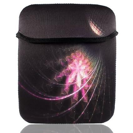 eDealMax Fuegos artificiales Imprimir 9.7 10 10.1 Funda Tablet PC Suave Bolsa de transporte