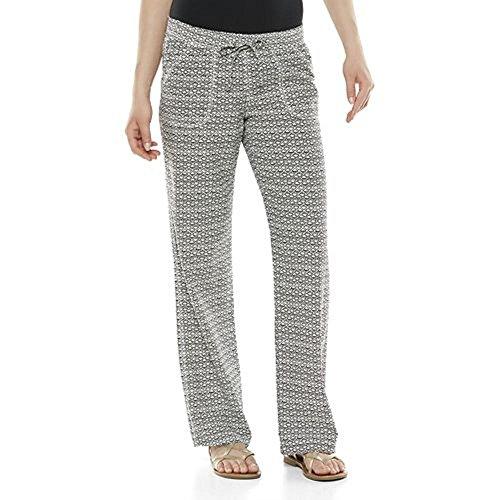SO Linen-Blend Beach Pants - Juniors (Small, Black/White) ()