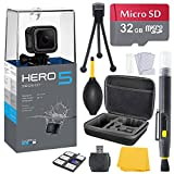 GoPro HERO 5 Session Bundle (7 items) + 32GB Card + Camera Case + Accessory Kit