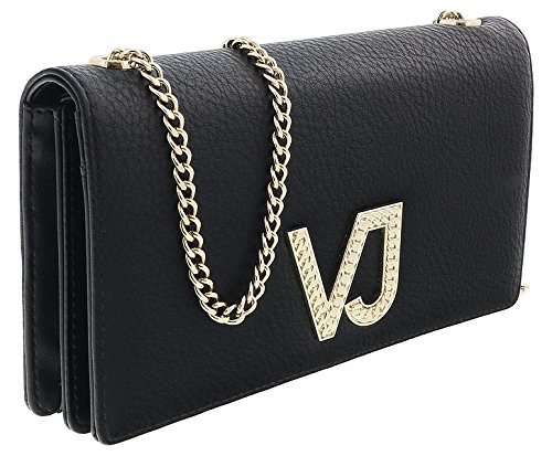 Versace EE3VRBPC3 Black Wallet on Chain for Womens