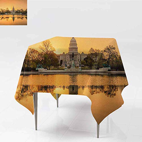 DILITECK Washable Table Cloth United States Washington DC