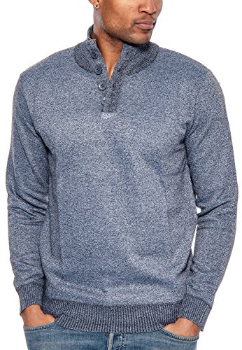 3 Button Ribbed Hoodie - 9