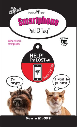 Platinum-Pets-The-Original-Smartphone-Cat-ID-Tag-with-GPS-Small-Red