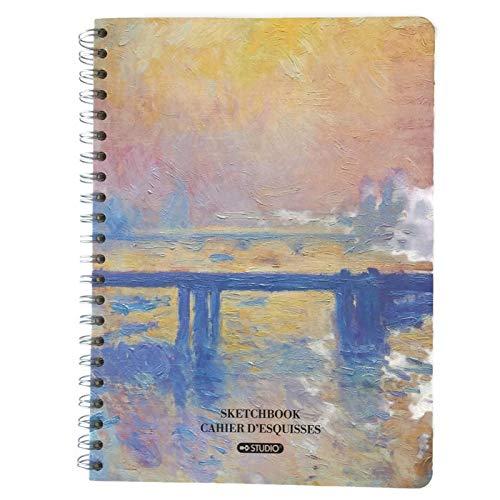 Studio Art Sketchbook - Ocean Side - Claude Monet