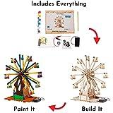 Wooden Ferris Wheel Building DIY Model Kits for