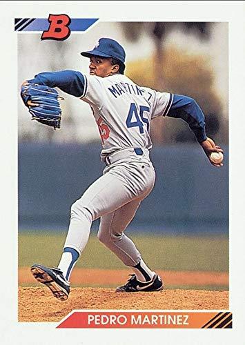 1992 Bowman - Pedro Martinez - 1st Official Bowman Card - Baseball Rookie Card RC #82