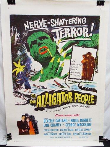 The Alligator People (1959) Original Folded US One-sheet (27x41