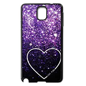 Love Pink Personalized Cover Case for Samsung Galaxy Note 3 N9000,customized phone case ygtg568316