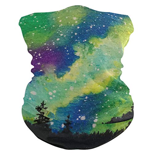 Lovexue Starry Forest Headband Womens Bandana Multifunctional, used for sale  Delivered anywhere in USA