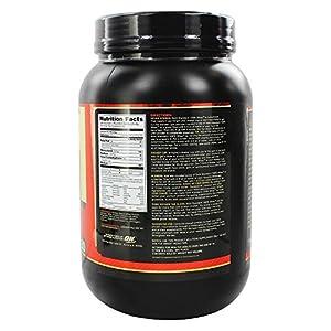 OPTIMUM NUTRITION GOLD STANDARD 100% Whey Protein Powder From Whey Isolates, Vanilla Ice Cream 2 Pound