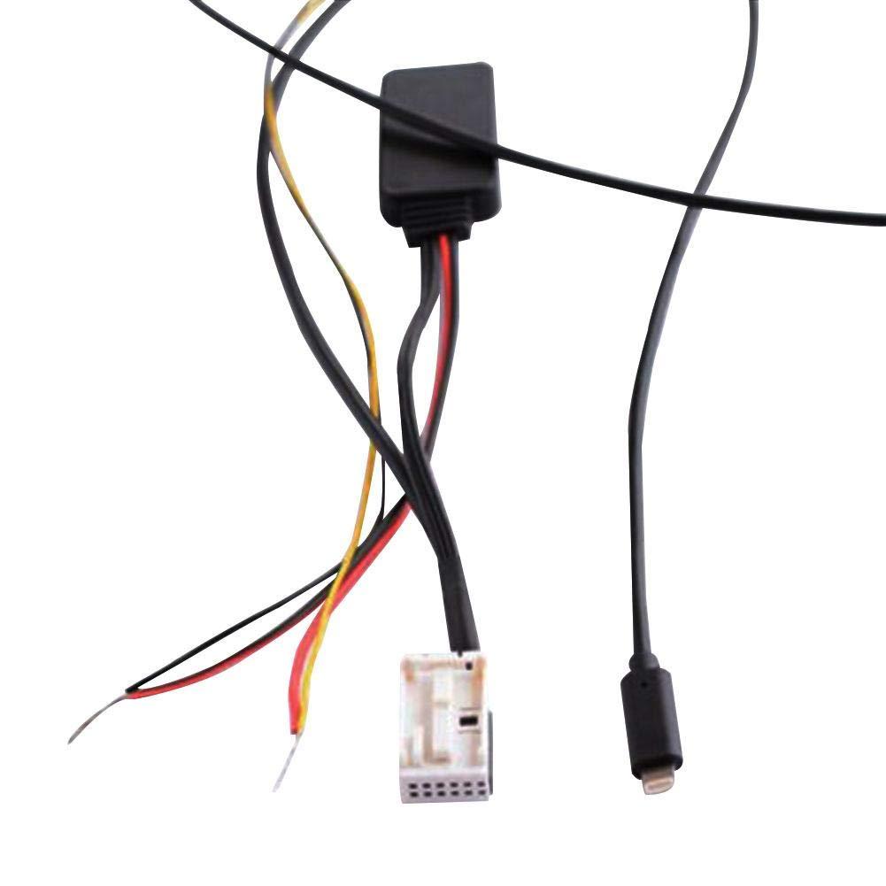 perfecti Cable De Audio Bluetooth 1.5m Radio Cable Car Cable De Tel/éfono Adaptador Cable Premium Aux para Mini Cooper R50 R52 R53