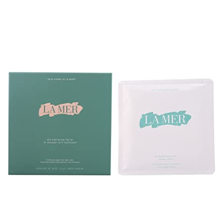 La Mer The Hydrating Facial Masks for Unisex 6 Piece Kit, 2.02 Pound