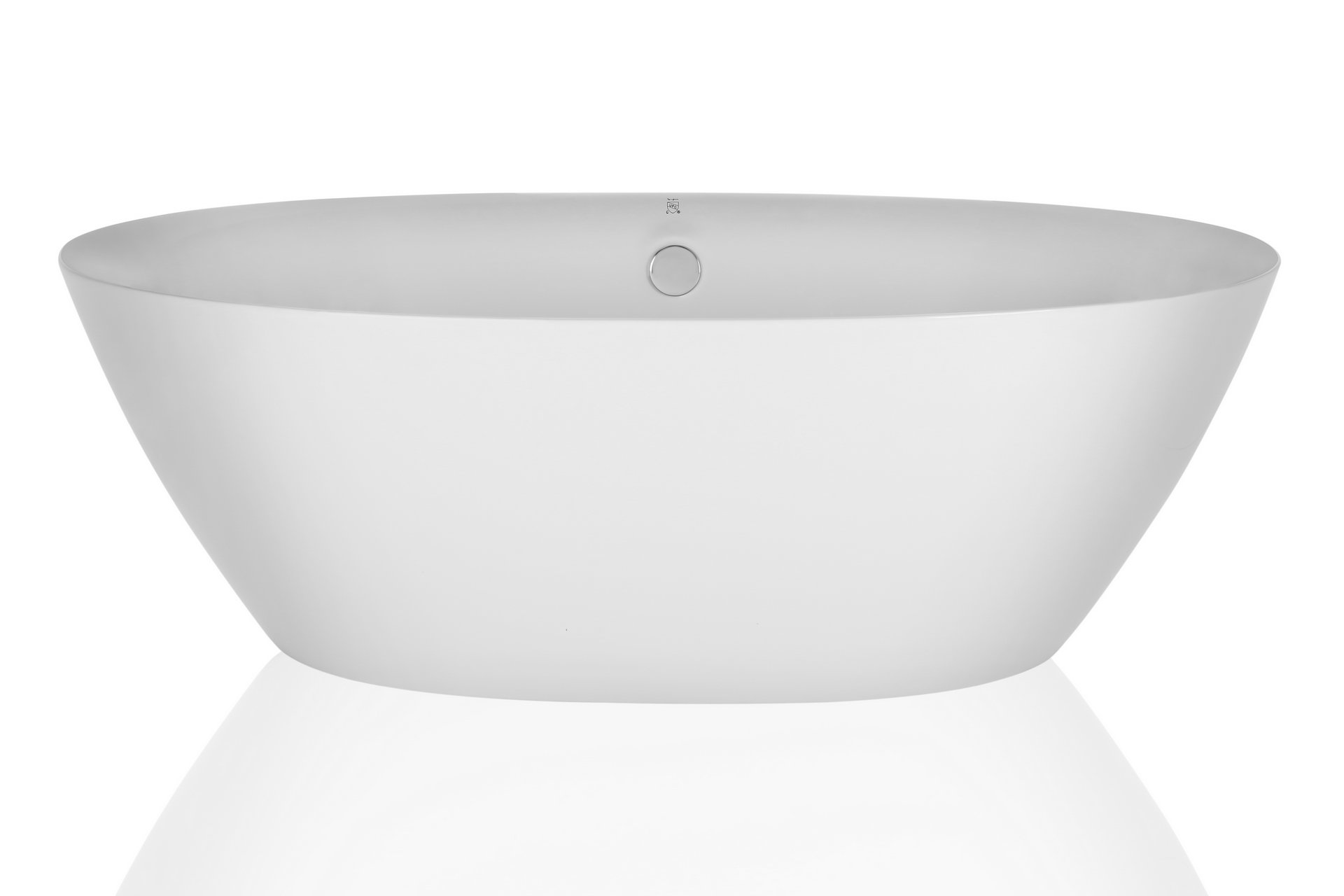 Empava 71'' Luxury Stand Alone Acrylic Soaking SPA Tub Modern Freestanding Bathtubs with Custom Contemporary Design EMPV-FT1503