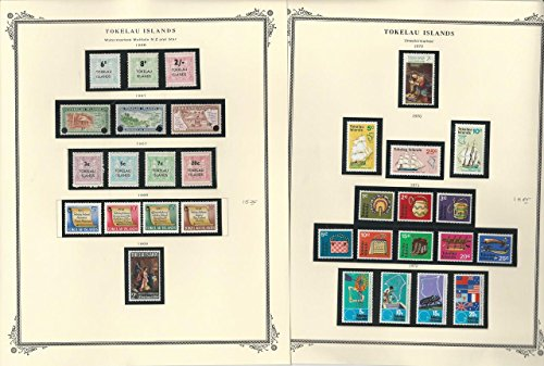 Tokelau Islands 1948-2016 Stamp Collection on 45 Scott Specialty Pgs, Mint NH