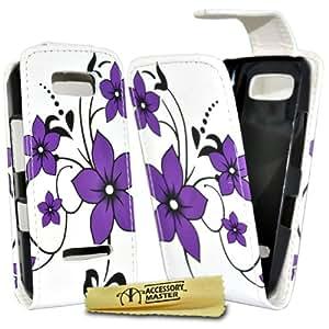 Accessory Master 5055716336207 - Funda para Nokia Asha 306, color Morado