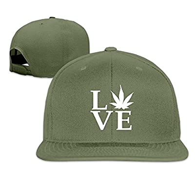 Adjustable Baseball Hat Snapbacks Hat Baseball Caps Trucker Hat - Love Pot Weed Pot Leaf