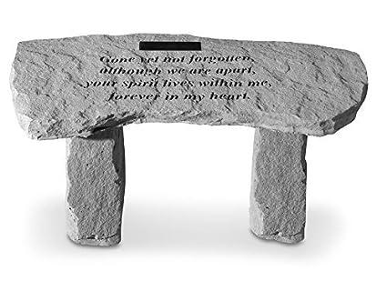 Strange Personalized Memorial Bench Gone Yet Not Forgotten Ncnpc Chair Design For Home Ncnpcorg