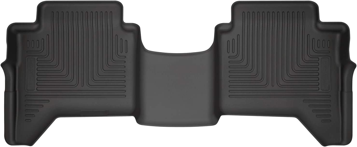 Husky Liners - 14411 Fits 2019-20 Ford Ranger SuperCrew Weatherbeater 2nd Seat Floor Mat Black