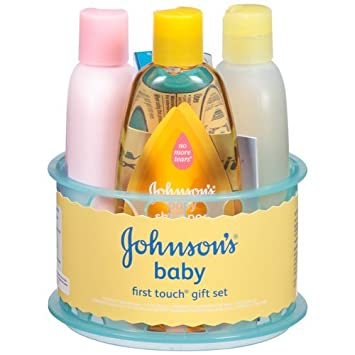 Image Unavailable. Image not available for. Color Johnsonu0027s Baby First Touch Gift Set ...  sc 1 st  Amazon.com & Amazon.com : Johnsonu0027s Baby First Touch Gift Set 5 Pc : Baby