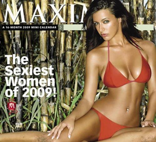 Maxim 2009 Calendar: A 16-month 2009 Mini Calendar