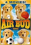 Air Bud / Air Bud 3: World Pup / Air Bud: Seventh Inning Fetch / Air Bud: Spikes Back (4 Movies Air Bud)