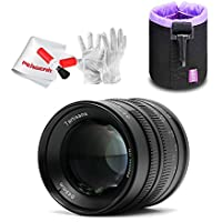 7artisans 55mm F1.4 Lens for Canon EOS-M Mount Camera M1 M2 M3 M5 M6 M10 - Fixed-Non-Zoom