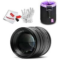 7artisans APS-C 55mm F1.4 Manual Fixed Lens for Fuji X Mount Cameras X-A1 X-A10 X-A2 X-A3 X-AT X-M1 XM2 X-T1 X-T10 X-T2 X-T20 X-Pro1 X-Pro2 X-E1 X-E2 X-E2s