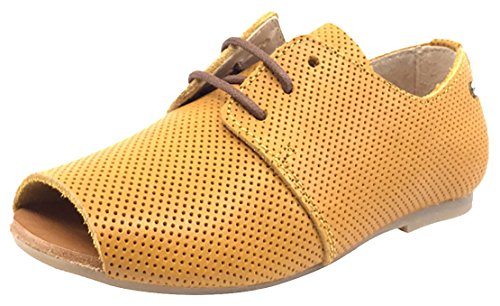 Manuela de Juan Girl's Mustard bastien Oxford (Mustard, 32 M EU/1 M US Little Kid) by Manuela de Juan