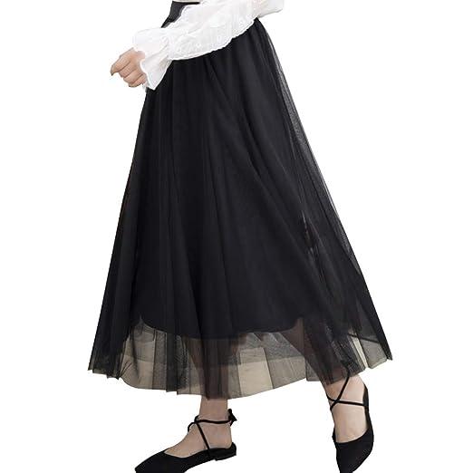 Tul Organza Faldas, la Dama de Honor del Partido elástico de la ...