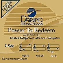 Power To Redeem [Accompaniment/Performance Track]