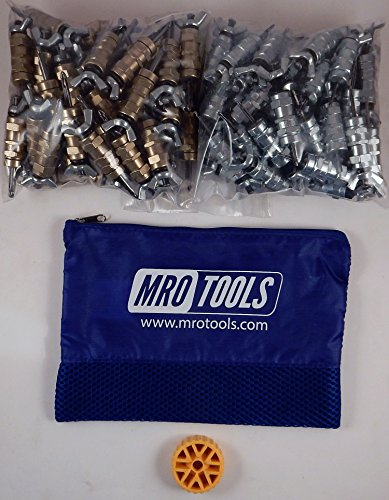 50 3/16 & 50 3/32 Standard Wing-Nut Cleco Fastener HBHT Tool & Bag (KWN4S100-5) by MRO Tools Cleco Fasteners