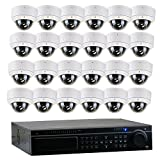 Cheap GW Security 32 Channel DVR 2.1 Megapixel HD-TVI 1080P Security Camera System with (24) x True HD 1080P Waterproof 2.8-12mm Varifocal Zoom Dome Security Camera