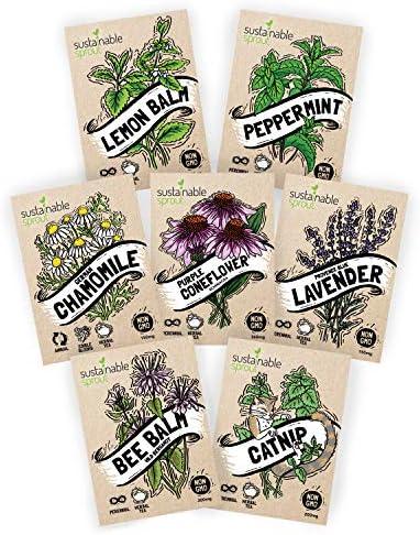 Herbal Tea Seeds Variety Pack product image