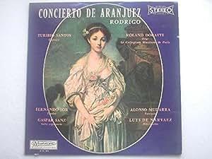 Douatte, Roland Concierto De Aranjuez Rodrigo LP Musidisc RC894 EX/VG 1960s
