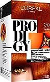 L'Oréal Paris Prodigy Coloration Permanente à l'Huile Sans Ammoniaque 7,4 Cuivré Raffiné