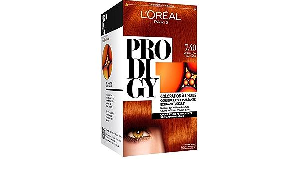 L Oréal Paris PRODIGY Coloración Permanente óleo Sans ammoniaque 7,4 hubbsi Raffiné