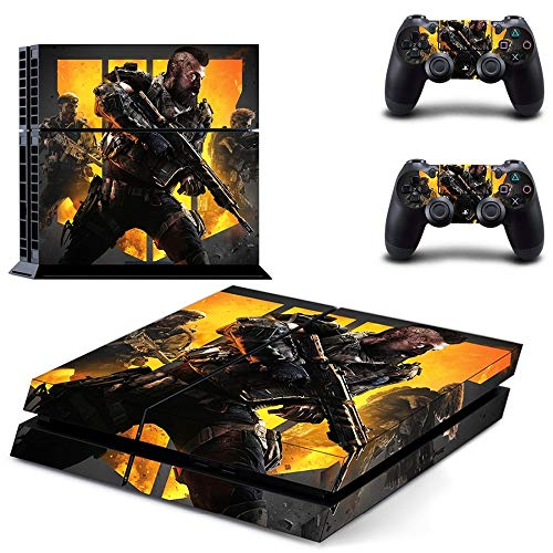 Call of Duty: Black Ops 4 PS4 Wrap Skin Cover - Playstation 4 Vinyl Decal Sticker Protective for PS4 Console and 2 PS4 Controller by Mr Wonderful Skin (Call Of Duty Black Ops 2 Cover)