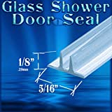 Ds100 Dual Fin Replacement Shower Door Wipe, Sweep, Seal - 98