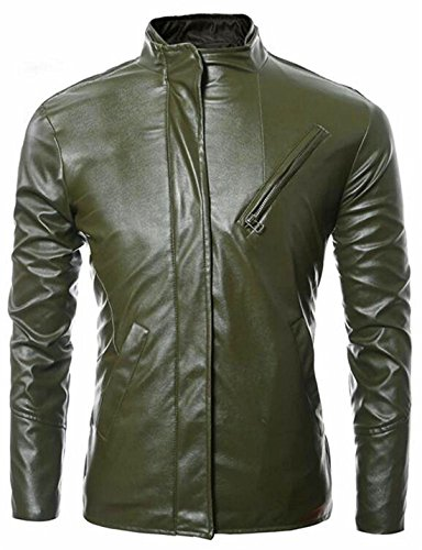 The CT Fashion Men's Turn-Down Collar Double-Breasted Winter Trench Coat