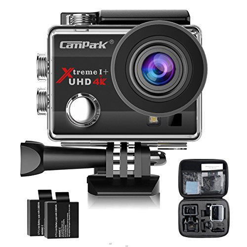 Ultra HD 4K WiFi 16MP Action Camera Sport DVR (Black) - 1