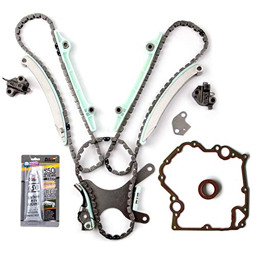ECCPP TKMI047NG Timing Chain Kit Cover Gasket Set fits for 03-08 Dodge Jeep 4.7L SOHC NGC JTEC