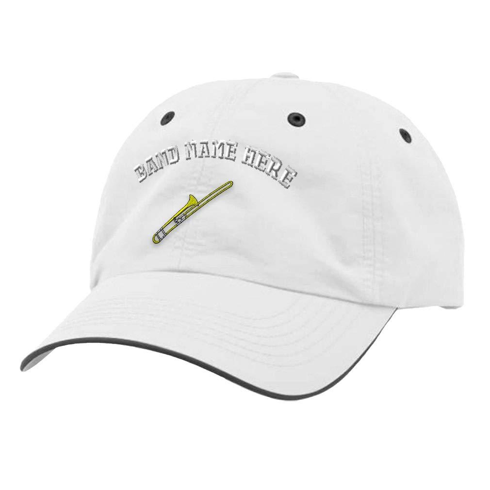 Custom Richardson Running Cap Trombone Embroidery Band Name Polyester Hat