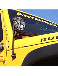 Antennax Ruta (13-pulgadas) Antena para (07 - 16) Jeep Wrangler JK
