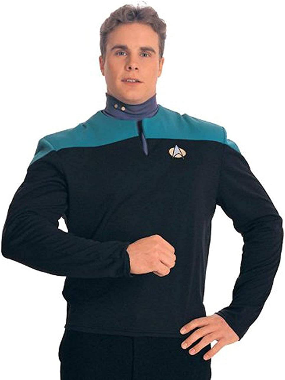 Star Trek Deep Space Nine Adult Uniform Costumes Shirt (Teal) M