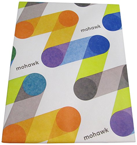 Mohawk Via Linen Writing Paper Natural Shade Watermarked, 24 lb 8.5 x 11 Inches, 500 Sheets/Ream (Sold as 1 Ream) (143580) by Mohawk Home