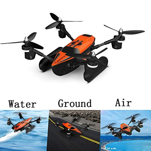 WLtoys Q353 Triphibian 2.4G 6-Axis Air-Ground-Water RC Quadcopter-Pre-order H9K1, Tuscom (Best Wltoys For Kids)