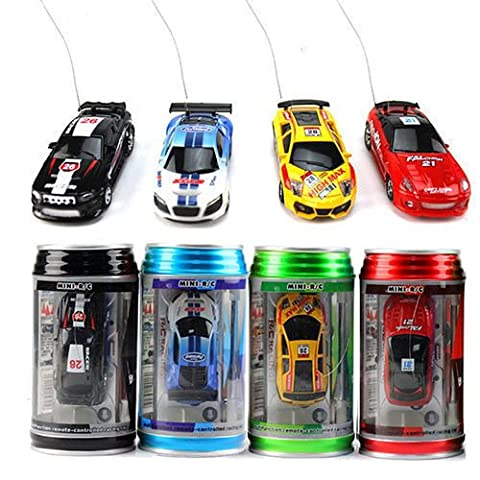 Marketworldcup - Multicolor Mini Coke Can Speed RC Radio Remote Control Micro Racing Car Toy Gift - Played Monopoly
